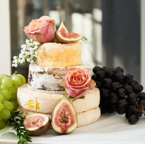 Cheese Wheel Grazing Tables